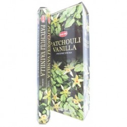Patchouli / Vanilla incense...