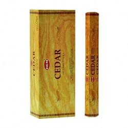 6 packs Cedar incense (HEM)