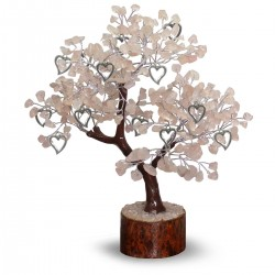 Gemstone tree rose quartz...