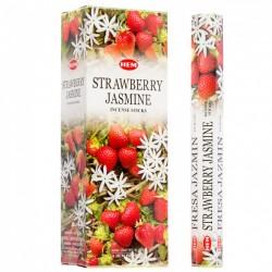 6 Packungen mit Erdbeer...