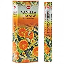 Vanilla orange incense...