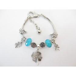 Pandora bracelet leaf...