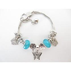 Pandora bracelet butterfly...